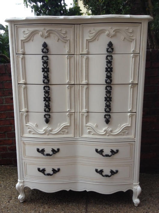 Shabby chic Solid Wood Dresser by NYCVintageDressers