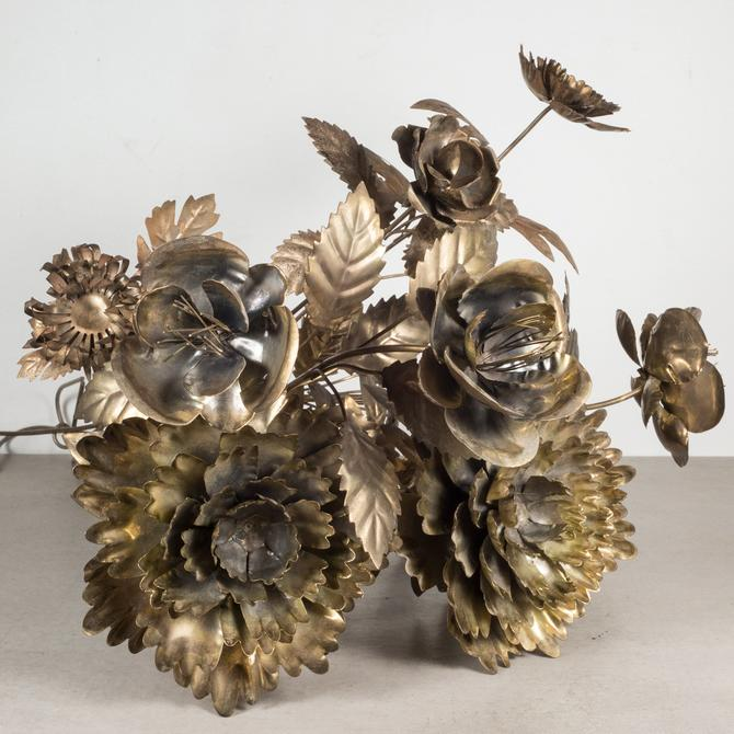 Collection of Hand Cut Brass Flowers