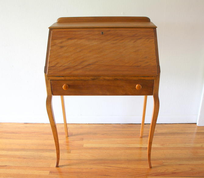 Petite Antique Secretary Desk