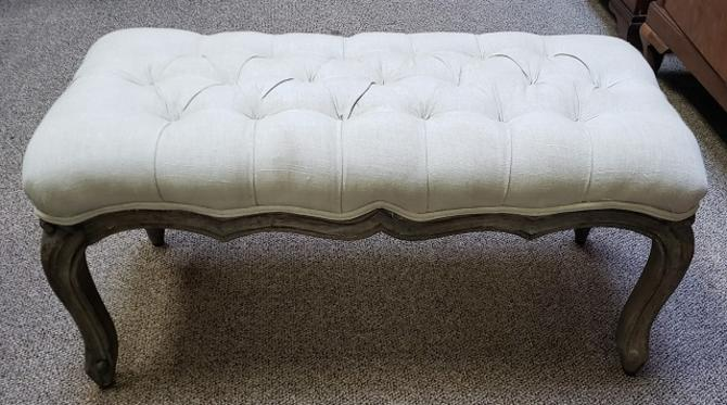 Item #S18 Contemporary Upholstered Bench