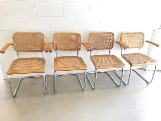 Only 9 Left! - Authentic Vintage Marcel Breuer Style Chairs (Priced Individually!) by PortlandRevibe