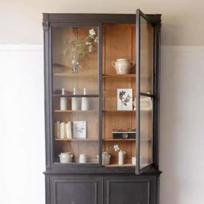 Vintage Library Cabinet