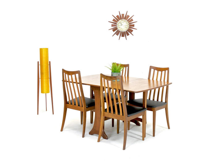Mid Century Table and 4 chairs by G Plan.... by SputnikFurnitureLLC