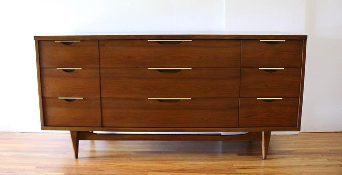 Mid Century Modern Low Dresser Credenza by Kent Coffey