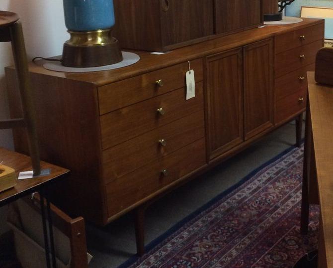 Mid Century Drexel Declaration Triple Dresser -- designed by Kipp Stewart and Stuart McDougall, c.1958-60