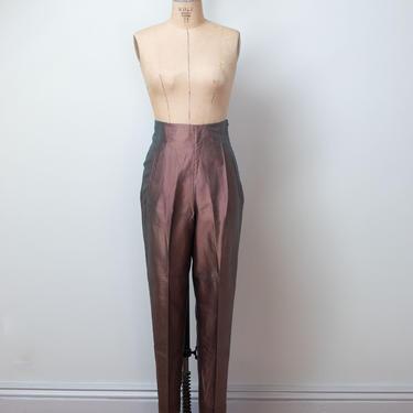 1990s Silk Pants | Romeo Gigli by FemaleHysteria