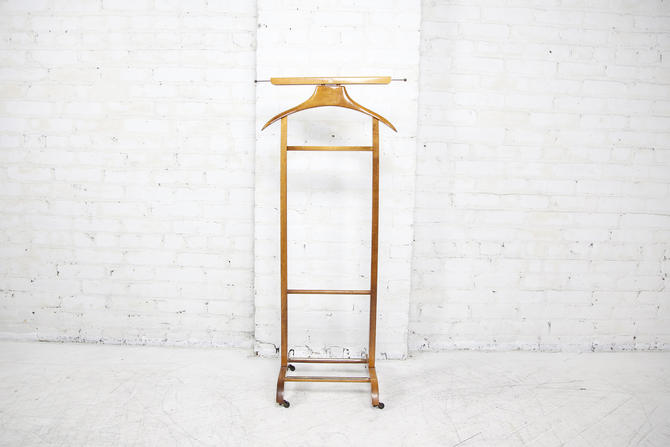 Vintage Italian valet stand | Free delivery in NYC and Central Hudson areas by OmasaProjects