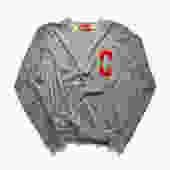 Letterman Sophomore Popover (Red on Gray)