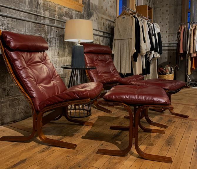 Westnofa STYLE Recliner and Ottoman
