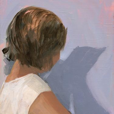 Litttle Bird . giclee art print by ClareElsaesser