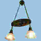 Oval Pan Ceiling Light