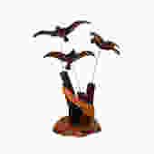 Mid Century Kinetic Wood Flying Birds by ModernPicks