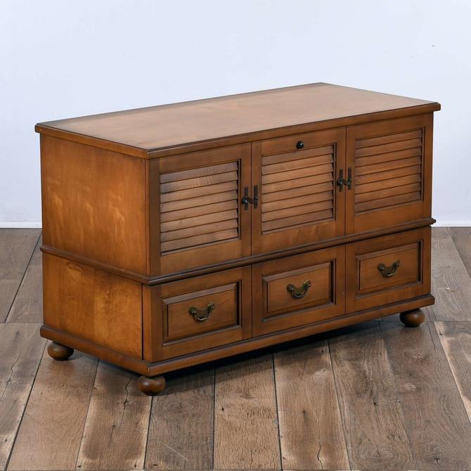 Lane American Colonial Style Cedar Trunk W Drawer