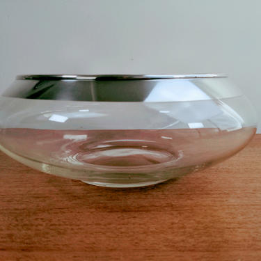 """Vintage Dorothy Thorpe Low 11"""" Wide Bowl 