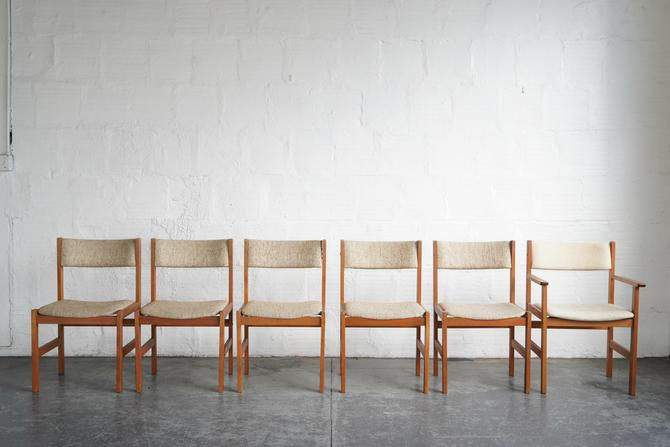 Dining Chairs by Sun Furniture for KD Furniture (Set of Six)