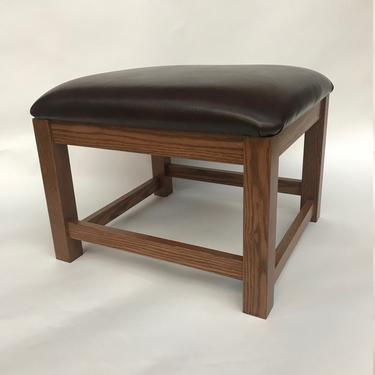 Mission Arts & Crafts Stickley style Footstool Ottoman Hassock New by DaleMartinFurniture