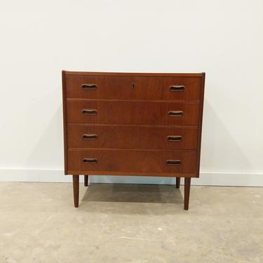 Vintage Danish Modern Teak Low Dresser / Chest by FarOutFindsNYC