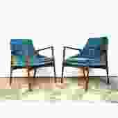 Pair of Ib Kofod-Larsen Armchairs