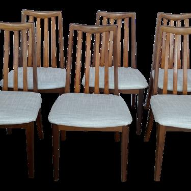 1960s Vintage Teak and Rosewood G Plan Chairs - Set of 6