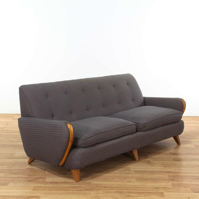 Super Heywood Wakefield Mid Century Modern Sofa From Loveseat Los Ncnpc Chair Design For Home Ncnpcorg