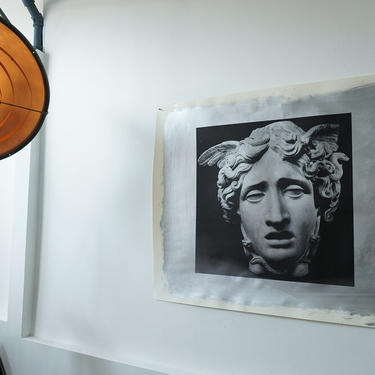 Medusa (Silver Version) on Heavy Drawing Paper signed