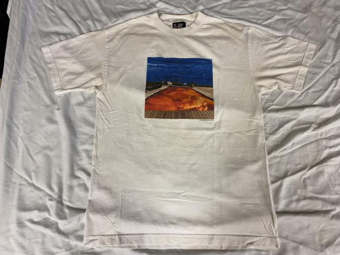 Vtg Red Hot Chili Peppers Californication White Medium T-Shirt