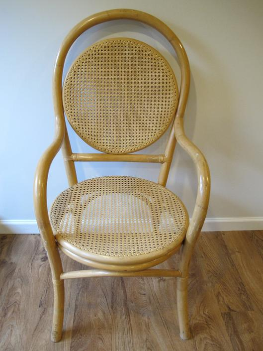 Mid-Century Bamboo and Cane Chair - Made in the Philippines by PortlandRevibe