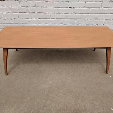 Mid Century Modern Heywood Wakefield Solid Birch Coffee Table by VintageVaultTulsa
