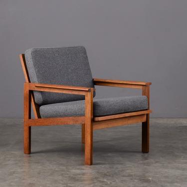 Mid Century Lounge Chair by Illum Wikkelsø Danish Modern Teak by MadsenModern
