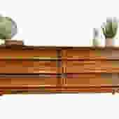 Mid Century Modern  WALNUT CREDENZA / DRESSER by Dixie Furniture Company by CIRCA60