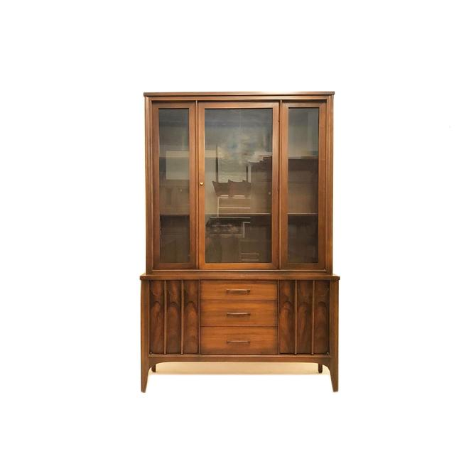 Vintage MCM Kent Coffey Perspecta China Cabinet by minthome