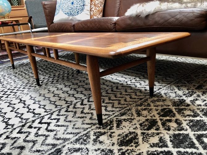 Vintage Lane 'Acclaim' Extra Long Coffee Table 1960's