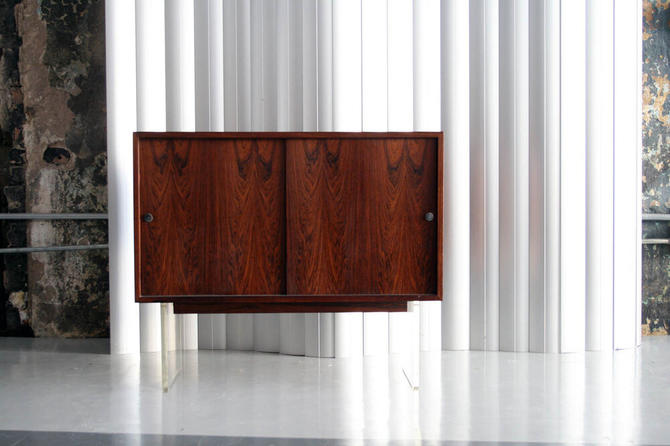Rosewood / Acrylic Base by Poul Norreklit for Georg Pedersens Denmark