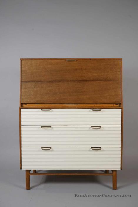 Mid Century Raymond Loewy for Mengel Desk