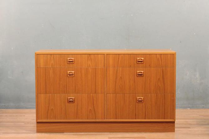 Danish Modern Teak 6-Drawer Dresser – ONLINE ONLY