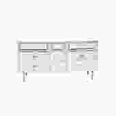 Mid-Century Modern 9 Drawer Dresser by Basset