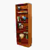 Slim (28″) & Tall Hundevad Danish Teak Adjustable Bookcase