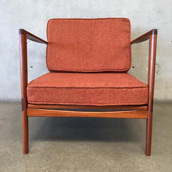 Custom Designed Mid Century Style Chair