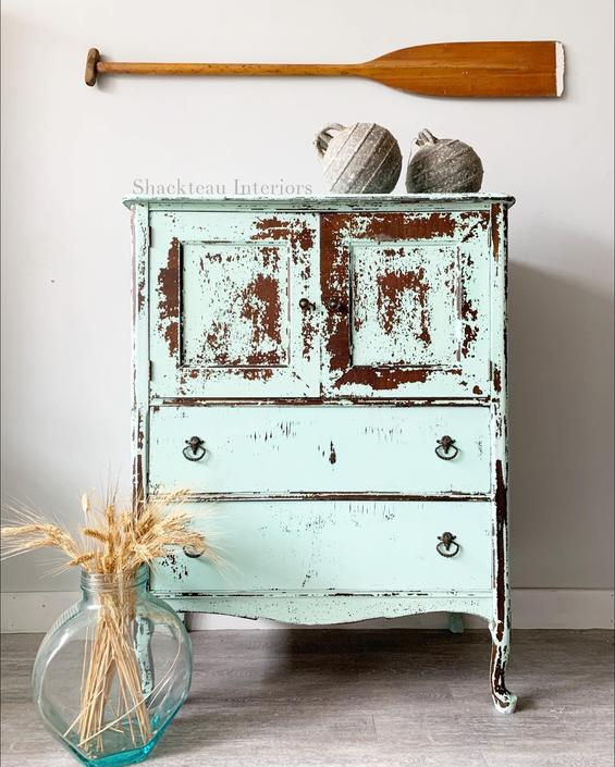 Chippy Armoire Cabinet