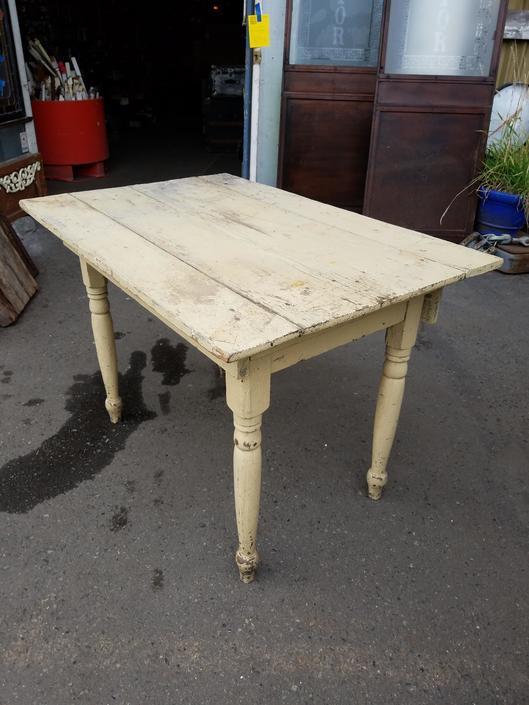 Rustic Farmhouse Table H29.75 x W42.25 x D28.75