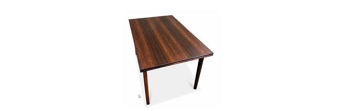 Vintage Danish Mid Century Rosewood Dining Table - Toftlund by LanobaDesign