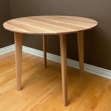 Round Midcentury Dining Table by BevelDownDesign