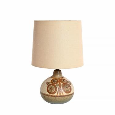 Soholm Stoneware Table Lamp  Hand Made Danish Modern by HearthsideHome