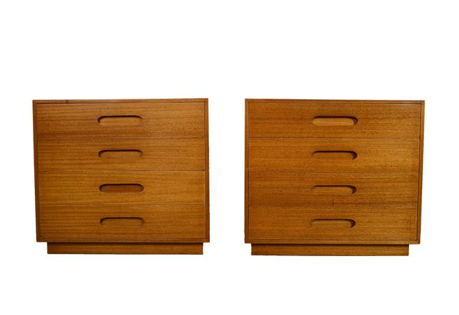 Harvey Probber Dressers Pair of Dressers Mid Century Modern by HearthsideHome
