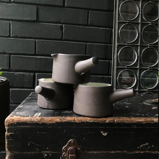 Jens Quistgaard Flamestone Creamer Pour Spout Handle Dansk 1960s Mid-Century Vintage Modern Cookware by BrainWashington