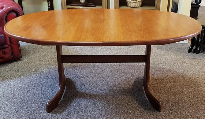 "Item #U49 Vintage ""G-Plan"" Extending Dining Table c.1960"