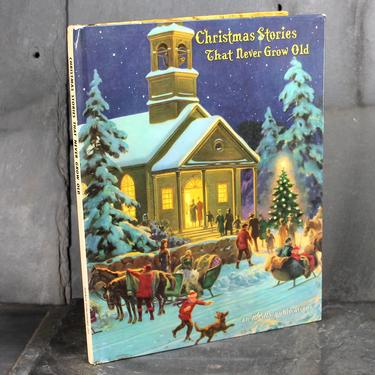 Christmas Stories That Never Get Old - 1961 Children's Christmas Picture Book - Vintage Christmas | FREE SHIPPING by Bixley