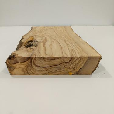 Italian Olive Wood Live Edge Mini Slab - Great for pen knife bowl turning blanks by FarOutFindsNY