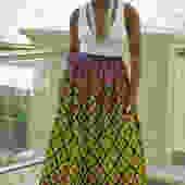 Maxi Skirt (Yellow)