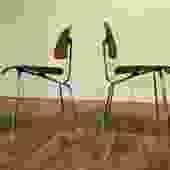 Eames DCM Chairs, Pair